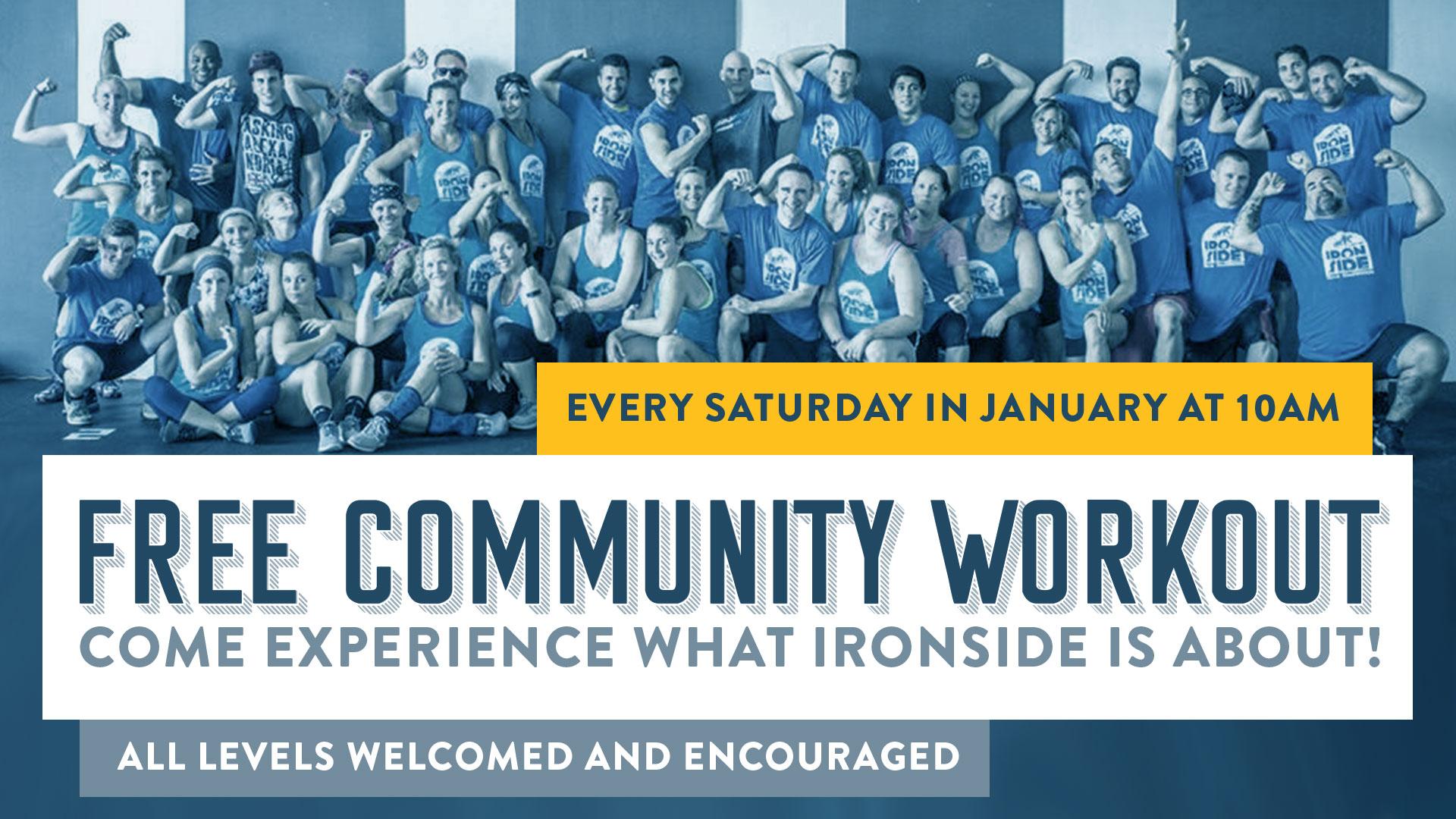 Crossfit Ironside - FREE Community Workout