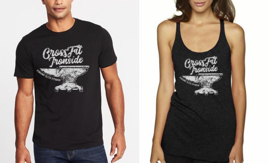 Crossfit Ironside - Anvil T-Shirt and Tank Top