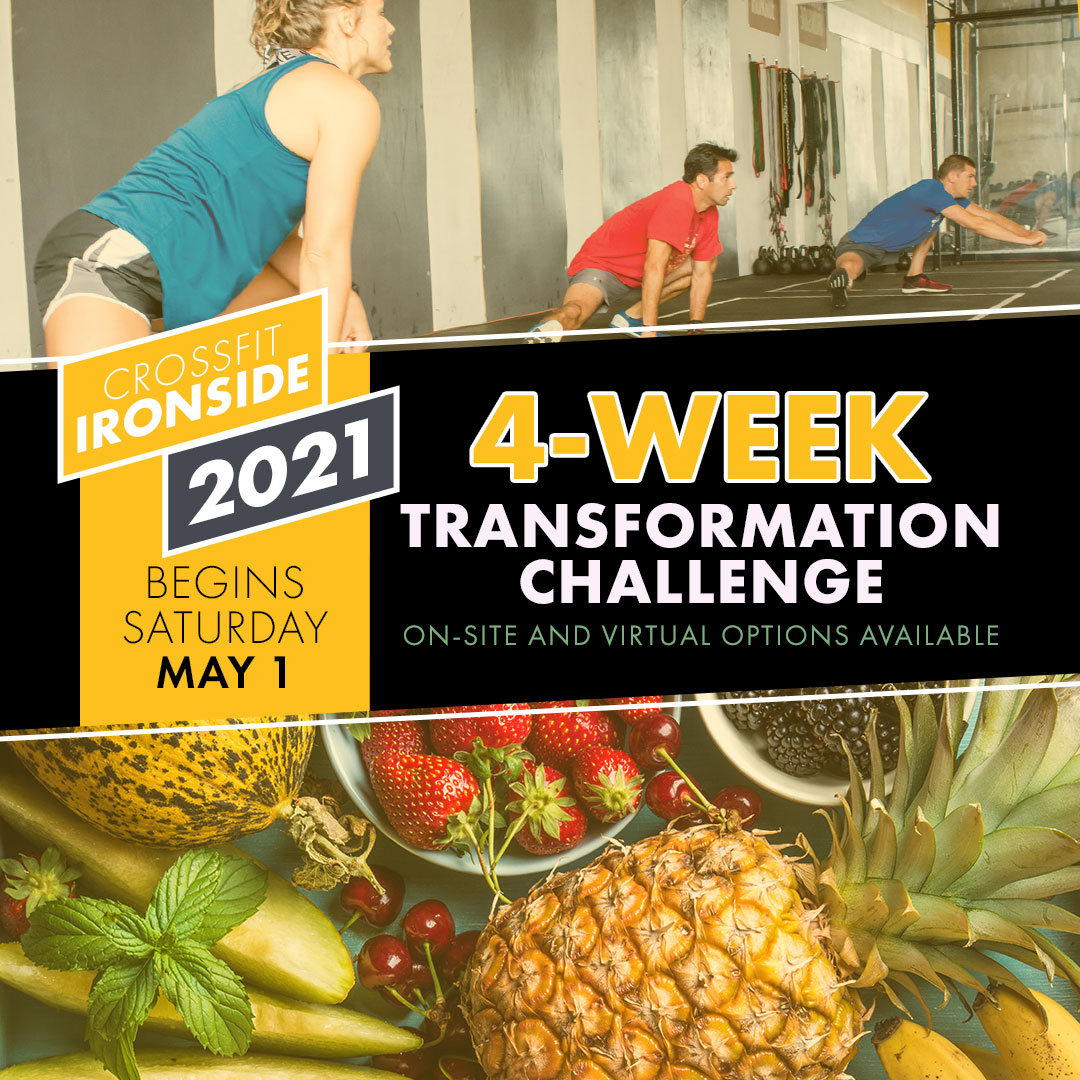 2021 CrossFit Ironside Transformation Challenge